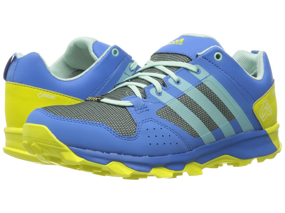 adidas Outdoor - Kanadia 7 Trail GTX (Ray Blue/Ice Green/Shock Slime) Women's Shoes