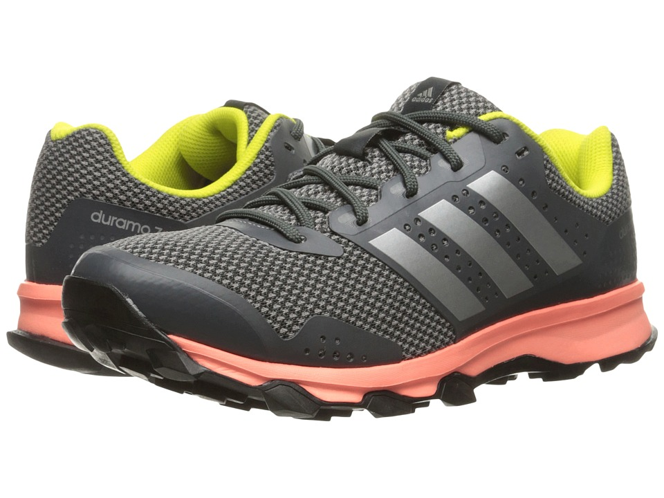 adidas Outdoor - Duramo 7 Trail (Dark Grey Heather Solid Grey/Silver Metallic/Charcoal Solid Grey) Women's Running Shoes