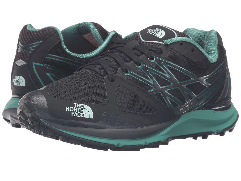 The North Face - Ultra Cardiac (TNF Black/Subtle Green) Women's Shoes