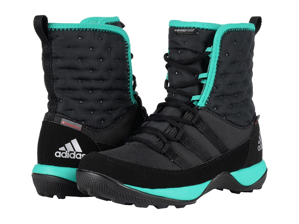 adidas Outdoor Kids - CW Libria Pearl CP (Little Kid/Big Kid) (Black?Black/Shock Mint) Girls Shoes