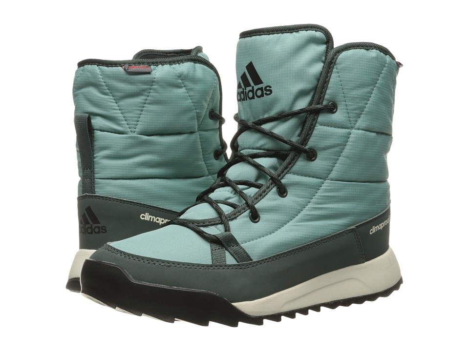 adidas Outdoor - CW Choleah Insulated CP (Vapour Steel/Utility Ivy/Black) Women's Cold Weather Boots