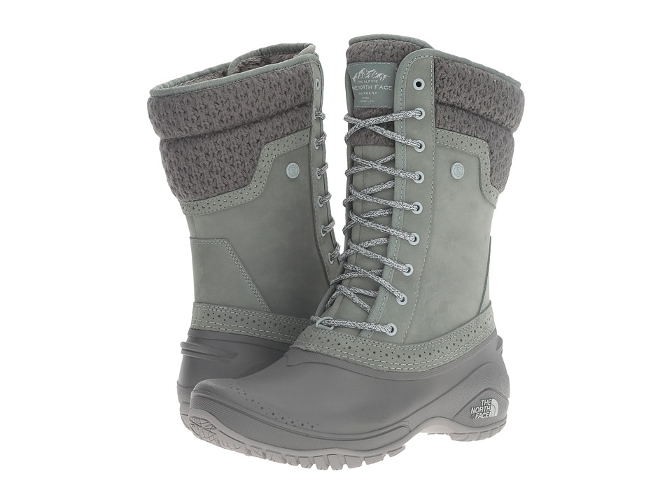 The North Face - Shellista II Mid (Duck Green/Wrought Iron) Women's Cold Weather Boots