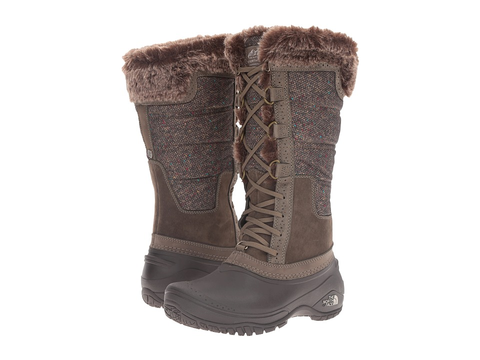 The North Face - Shellista II Tall (Weimaraner Brown/Dove Grey) Women's Cold Weather Boots