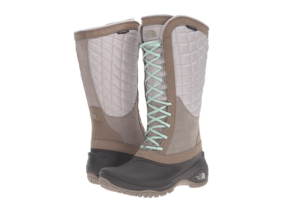 The North Face ThermoBall Utility (Split Rock Brown/Subtle Green) Women