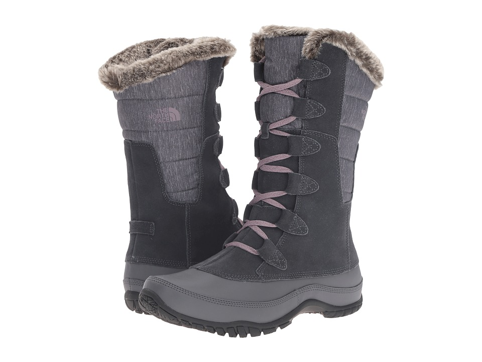 The North Face - Nuptse Purna (Iron Gate Grey/Quail Grey) Women's Cold Weather Boots