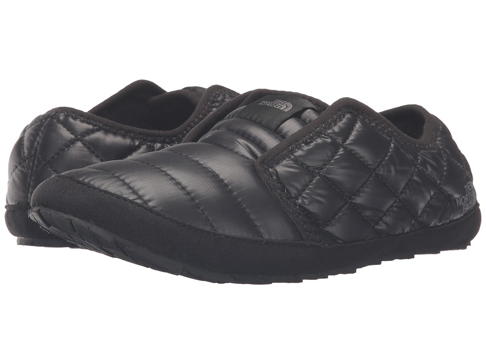The North Face - ThermoBall Traction Mule II (Shiny TNF Black/TNF Black) Women's Slippers