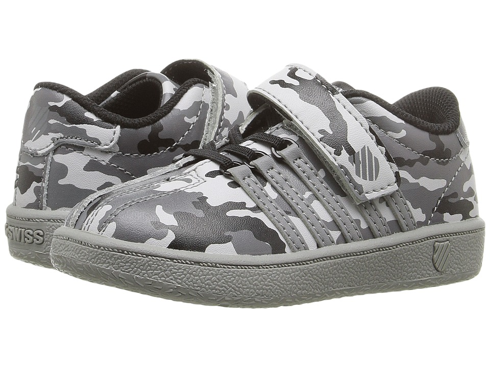 K-Swiss Kids - Classic VN Camo VLC (Infant/Toddler) (Stingray/Black) Boy's Shoes