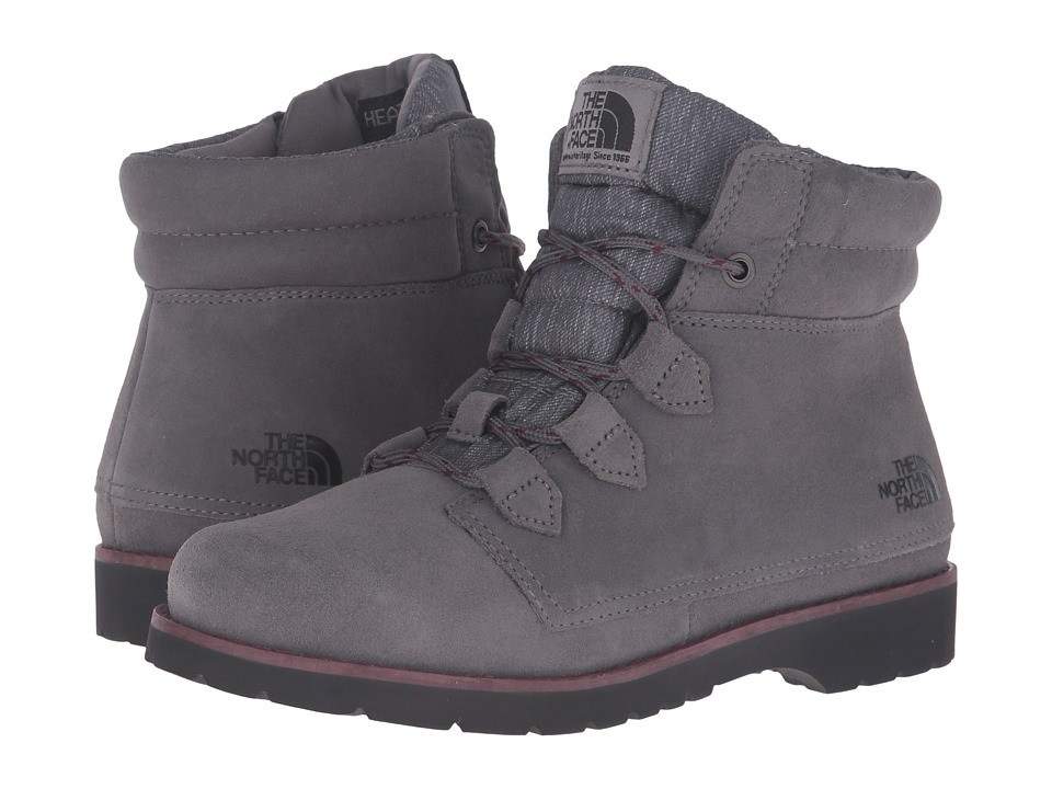 The North Face Ballard Roll-Down SE (Smoked Pearl Grey/Deep Garnet Red) Women