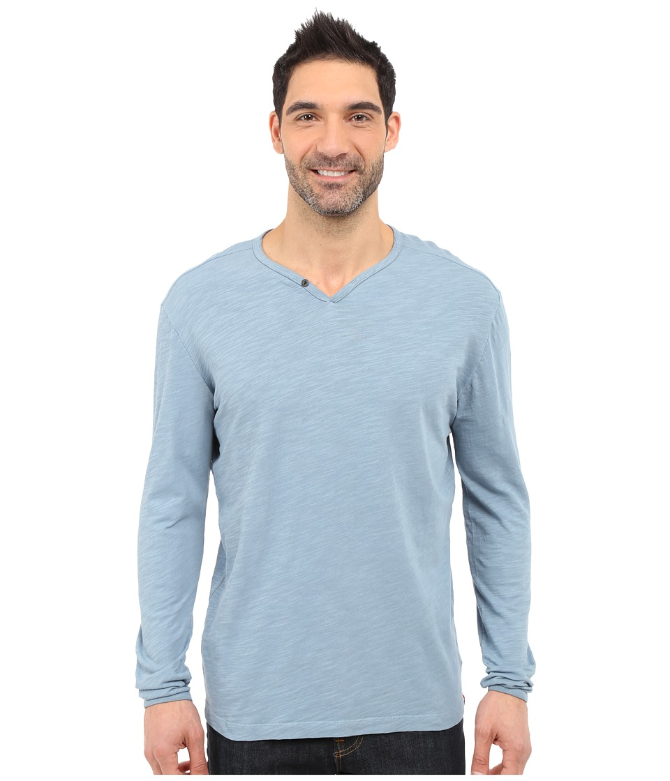 Agave Denim - Yuma One Button Long Sleeve Crew (Citadel) Men's Clothing