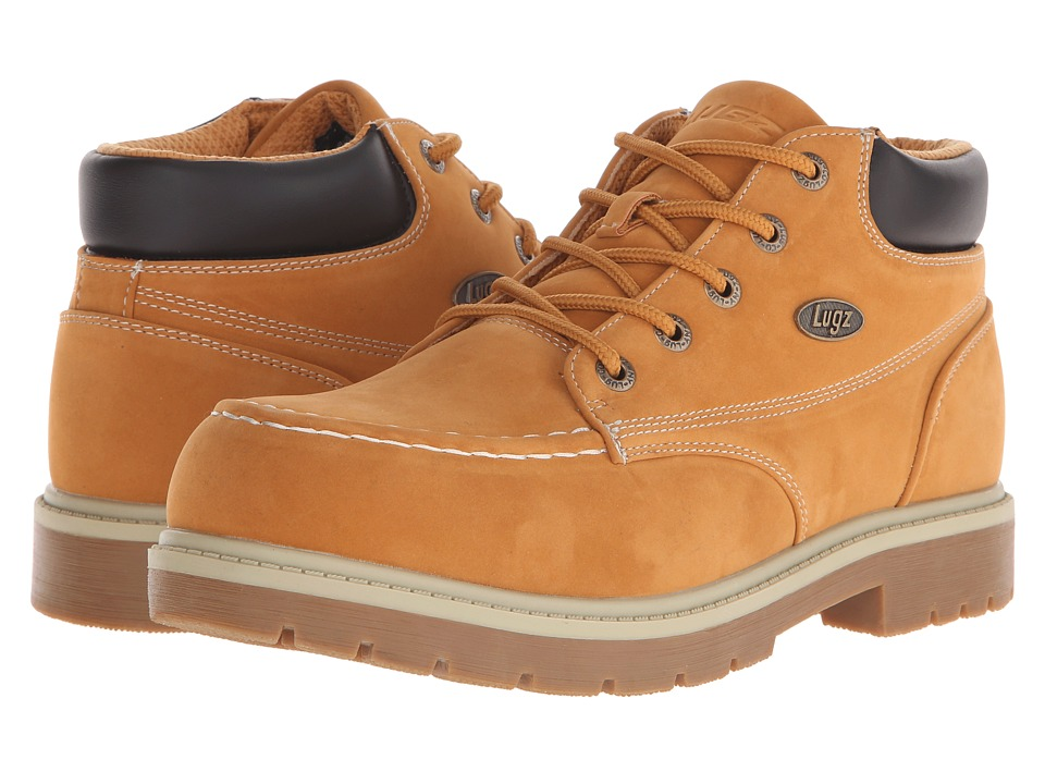 Lugz Loot SR (Golden Wheat/Cream/Bark/Gum) Men