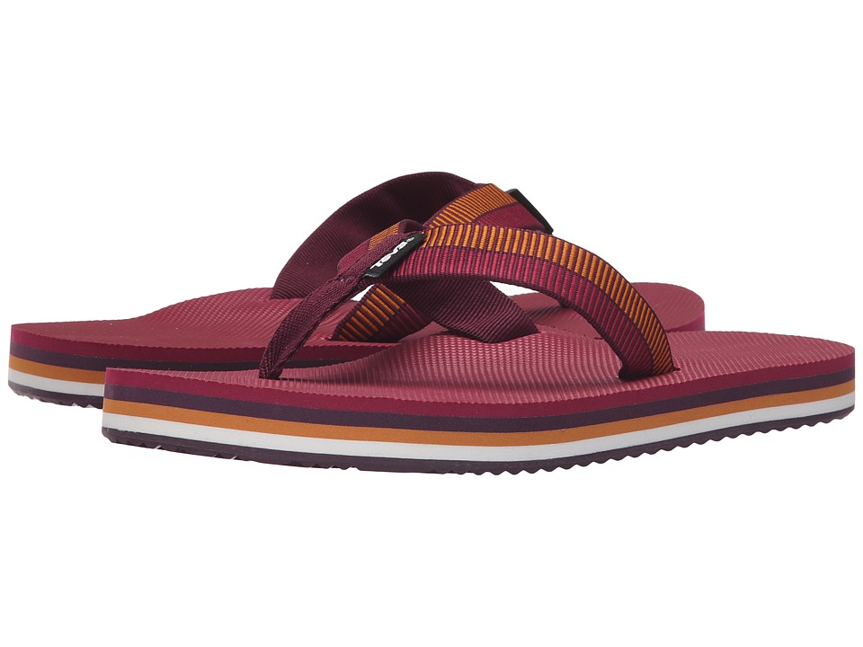 Teva Deckers Flip (Ladder Grape Wine) Women