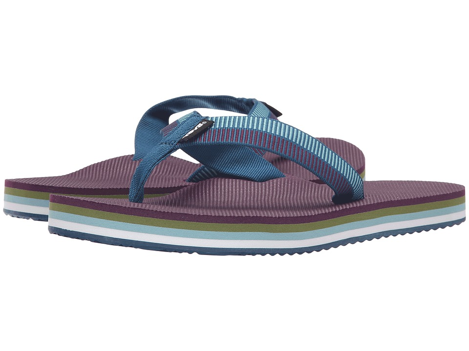 Teva Deckers Flip (Ladder Moroccan Blue) Women