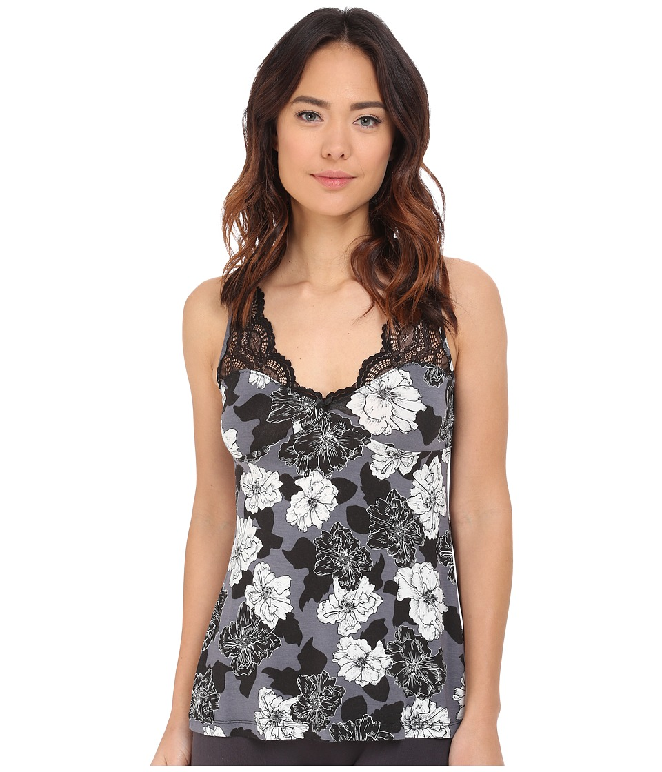 P.J. Salvage - Black Night Camisole (Grey) Women's Pajama