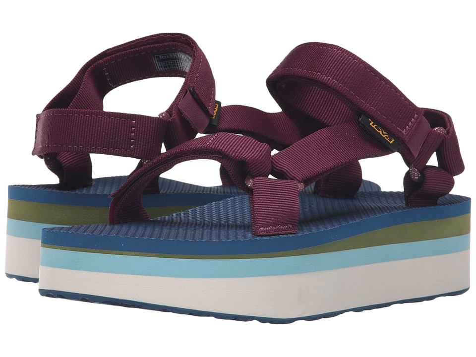 Teva Flatform Universal Retro (Grape Wine) Women