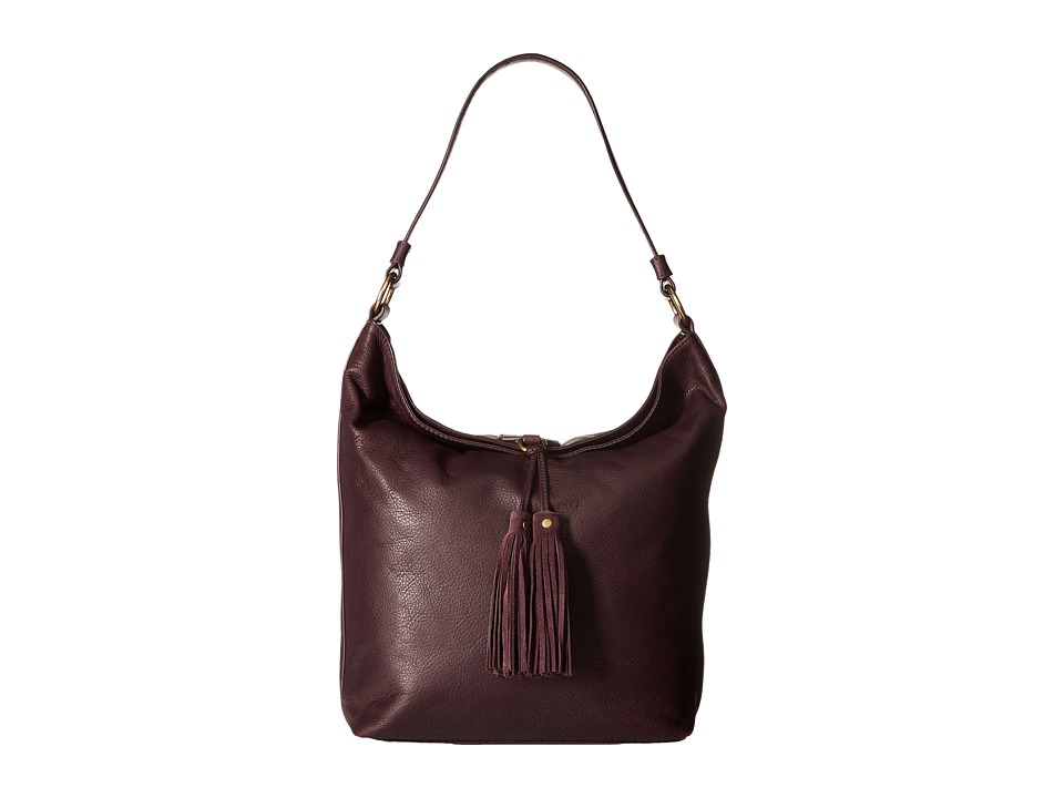 Frye - Clara Hobo (Wine Soft Vintage Leather) Hobo Handbags