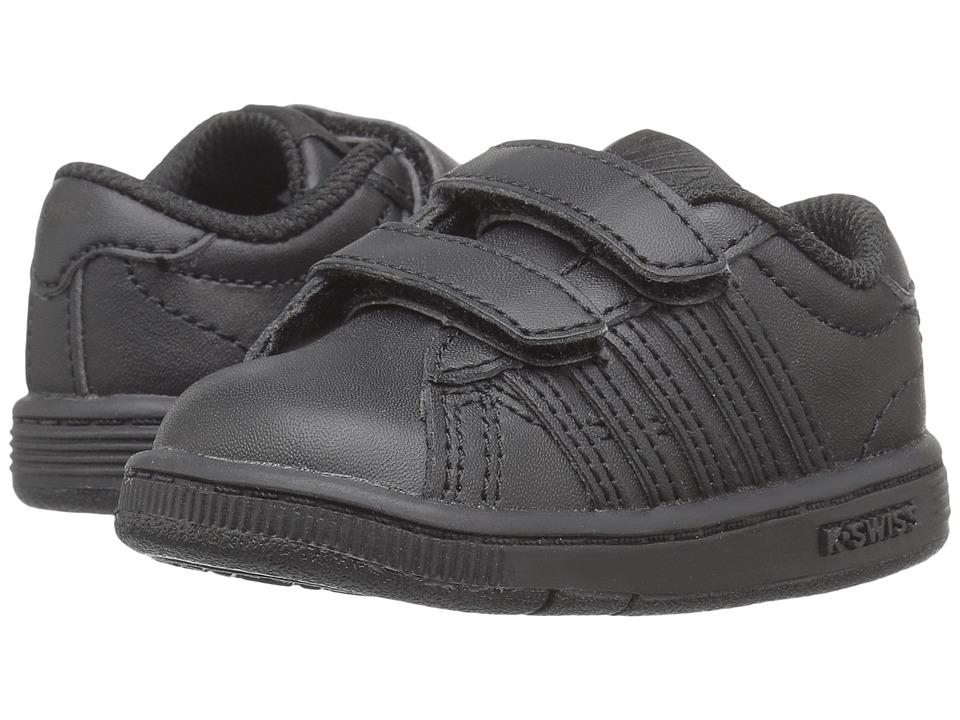 K-Swiss Kids - Hoke Straptm (Infant/Toddler) (Black/Black) Kids Shoes