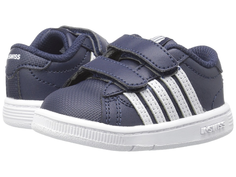 K-Swiss Kids - Hoke Strap (Infant/Toddler) (Navy/White) Kids Shoes