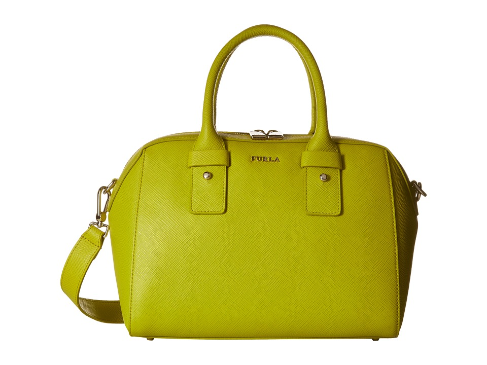 Furla - Allegra Small Satchel (Jade) Satchel Handbags