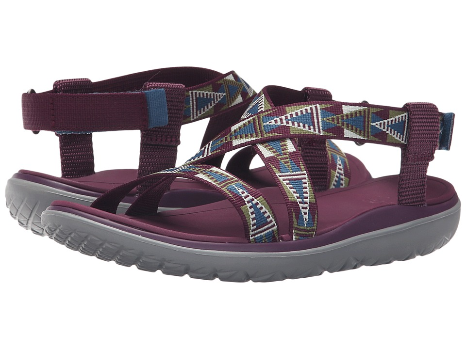 Teva Terra-Float Livia (Mosaic Grape Wine) Women