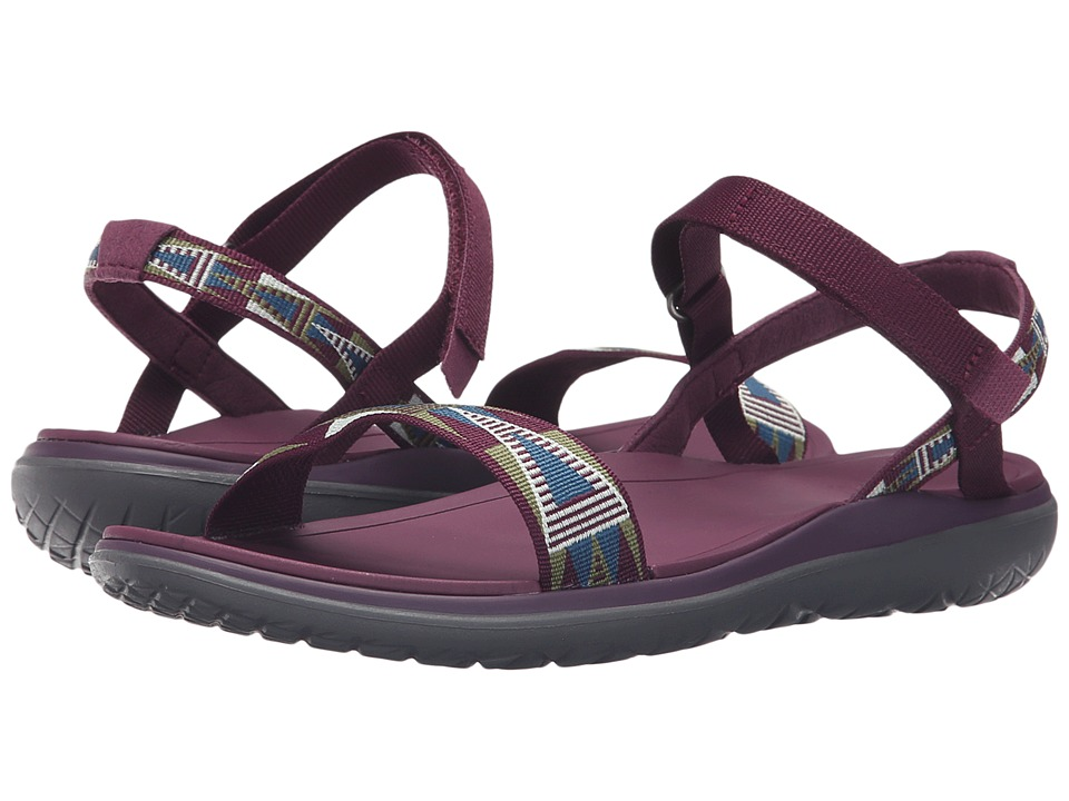 Teva - Terra-Float Nova (Mosaic Grape Wine) Women's Shoes
