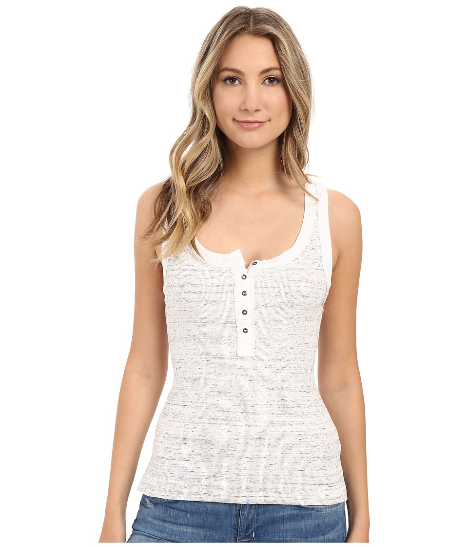 Free People - Time Out Tank Top (Ivory/Black) Women's Sleeveless