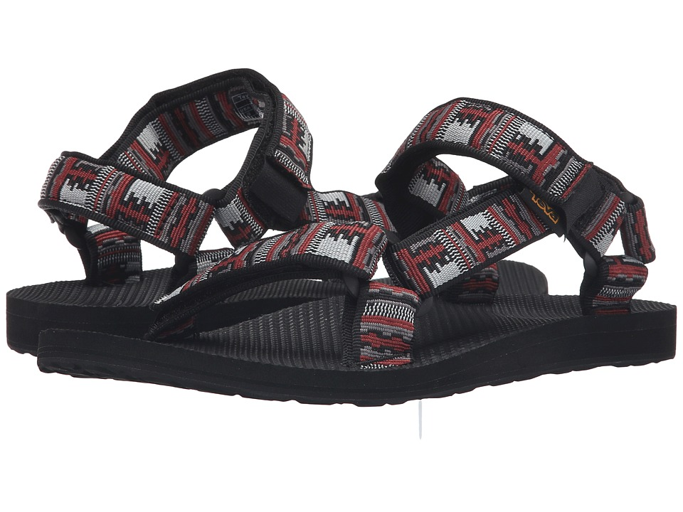 Teva - Original Universal (Inca Black/Red) Men's Sandals