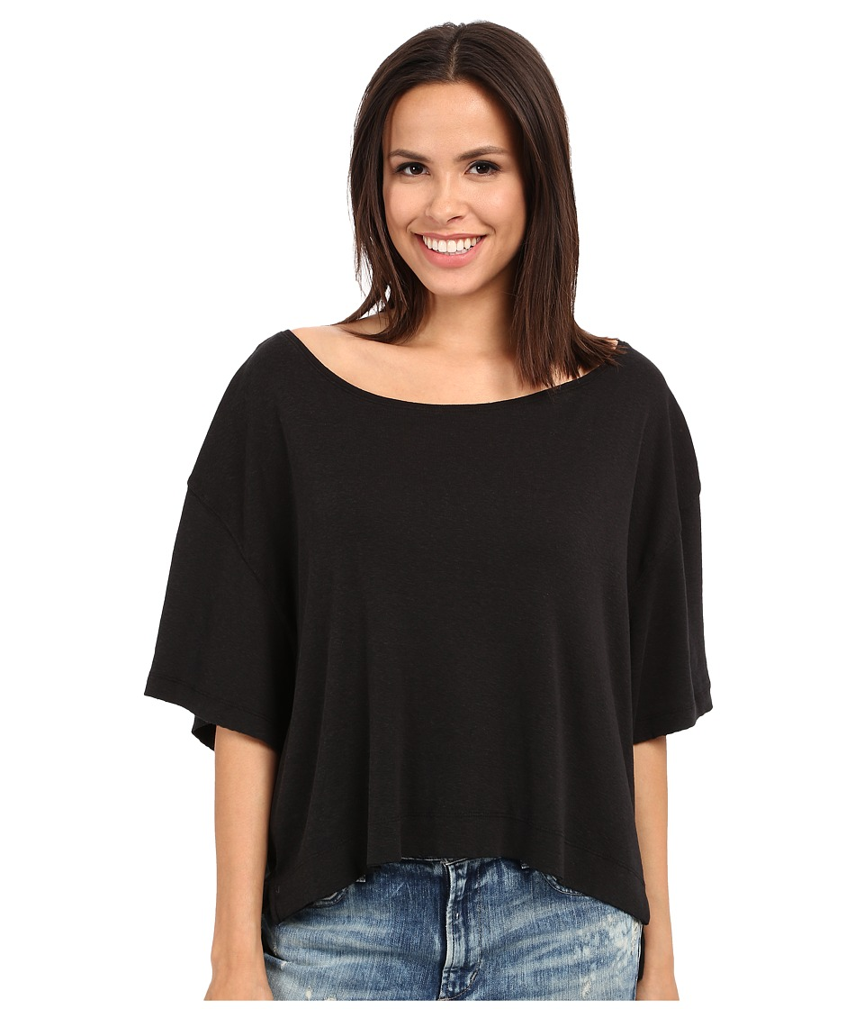 Free People - Penny Tee (Black) Women's T Shirt