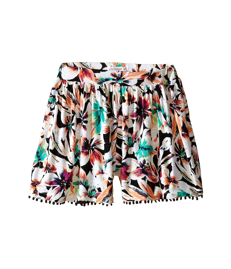 Ella Moss Girl - Brandi Printed Knit Shorts (Big Kids) (Print) Girl's Shorts