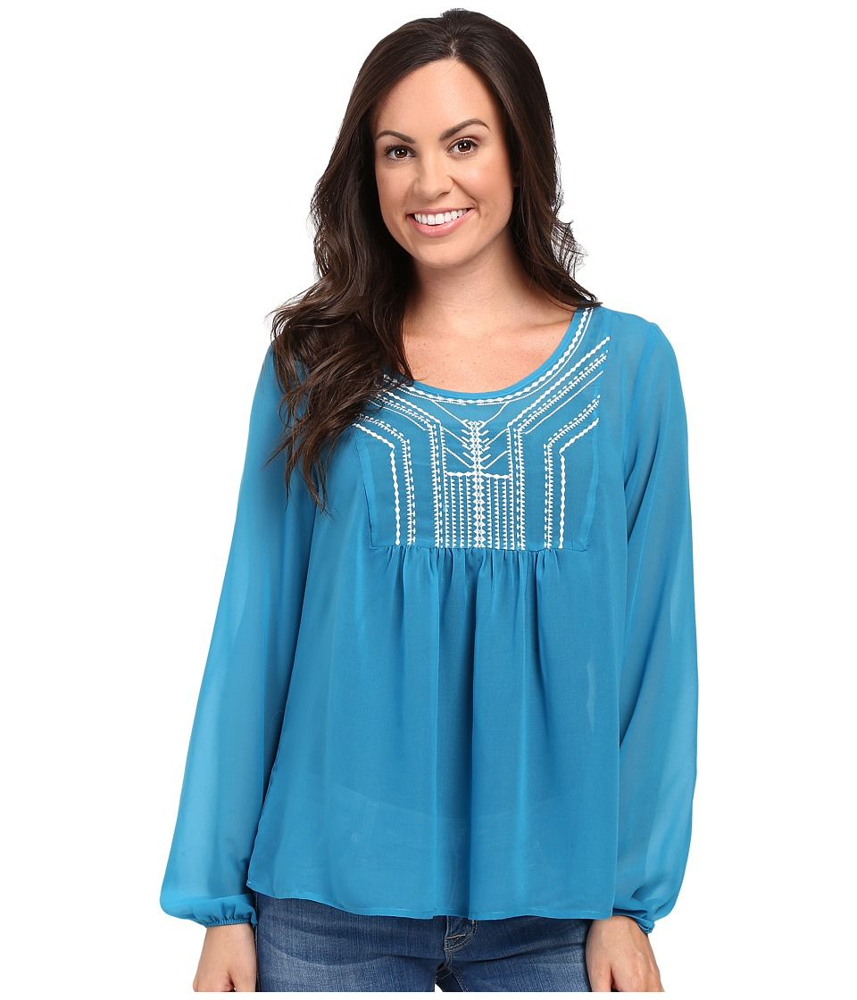 Ariat - Molly Top (Blue) Women's Clothing