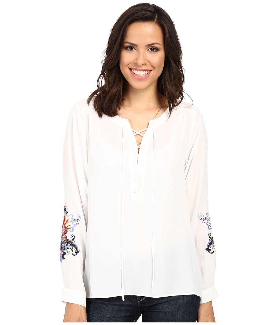Ariat - Blush Top (Whisper White) Women's Clothing