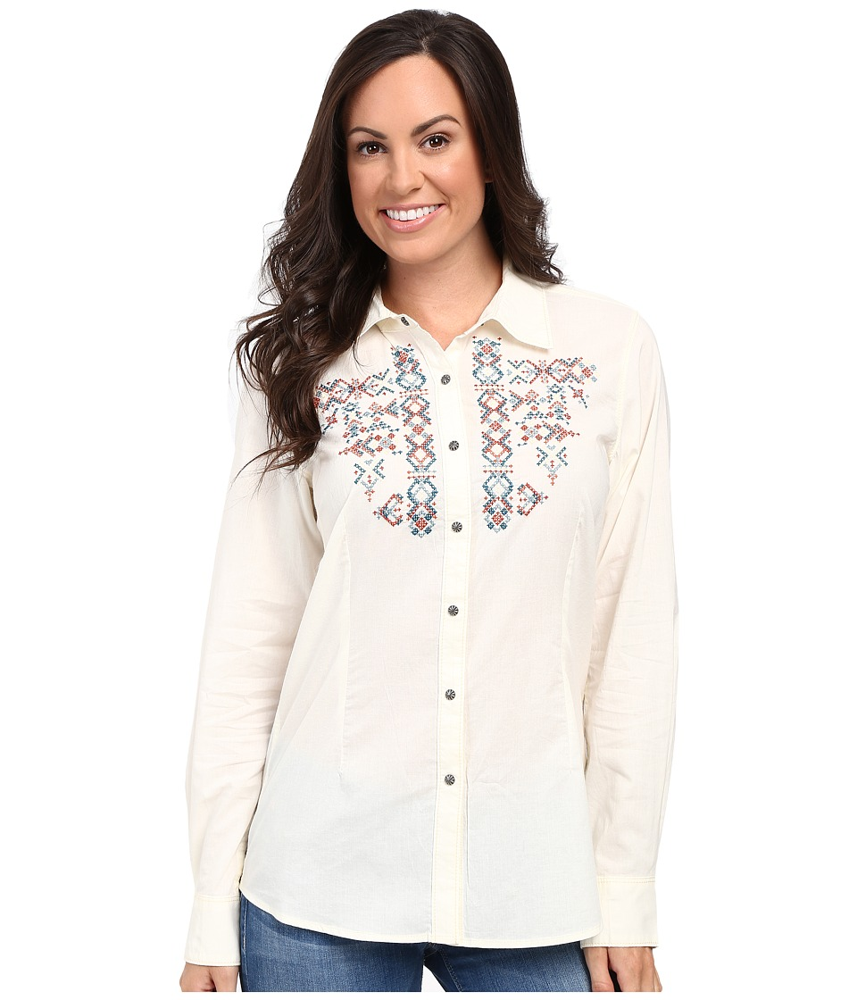 Ariat - Hatch Snap Shirt (Ivory) Women's Clothing