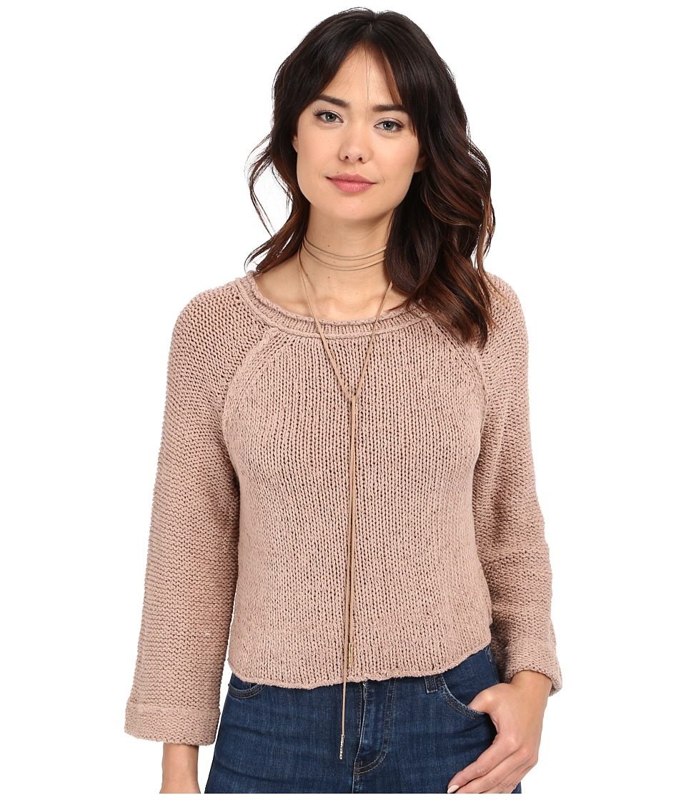 Free People - Endless Stories Pullover (Toasted Almond) Women's Sweater