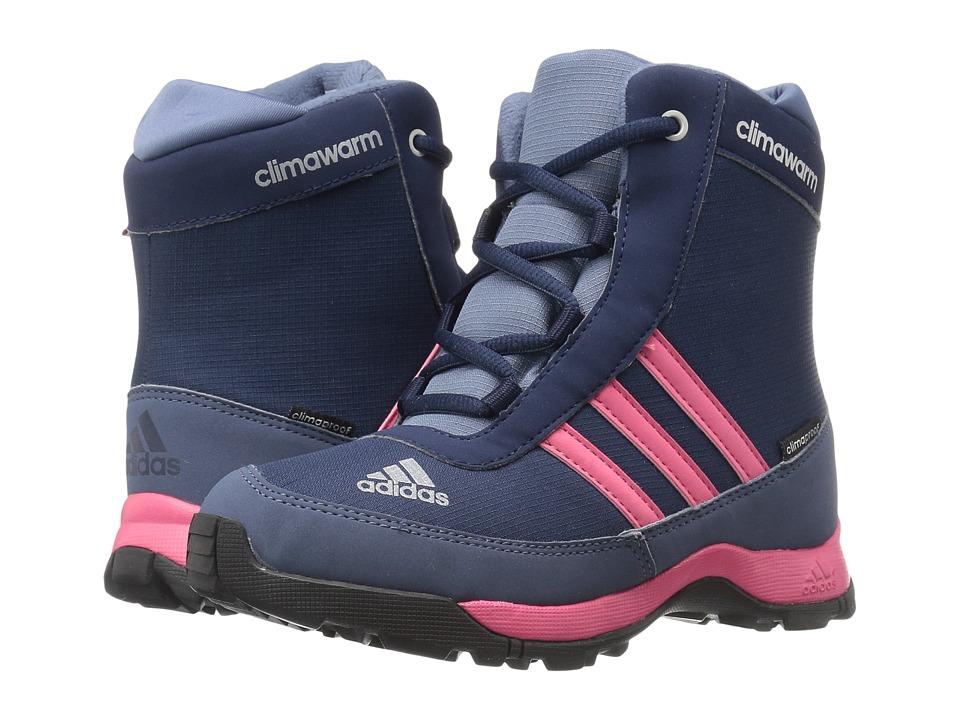 adidas Outdoor Kids - CH Adisnow CP (Little Kid/Big Kid) (Collegiate Navy/Bahia Pink/Tech Ink) Girls Shoes