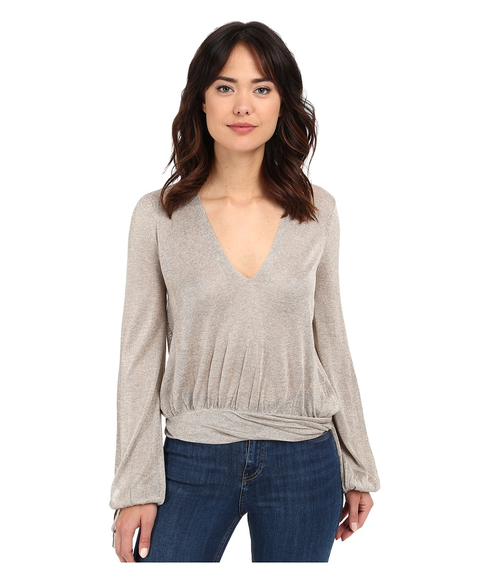 Free People - Rock Steady Pullover (Wheat) Women's Sweater