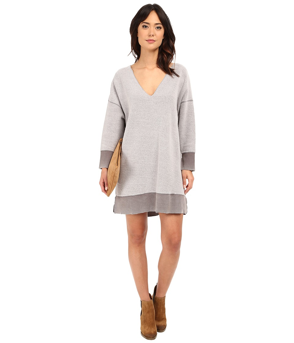 Free People - All About Pullover (Moonstone) Women's Dress