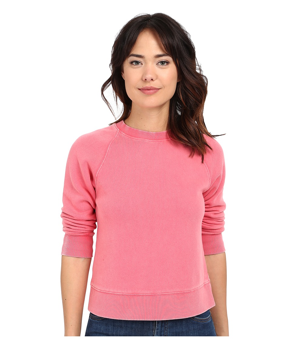 Free People - Vintage Crop Pullover (Red) Women