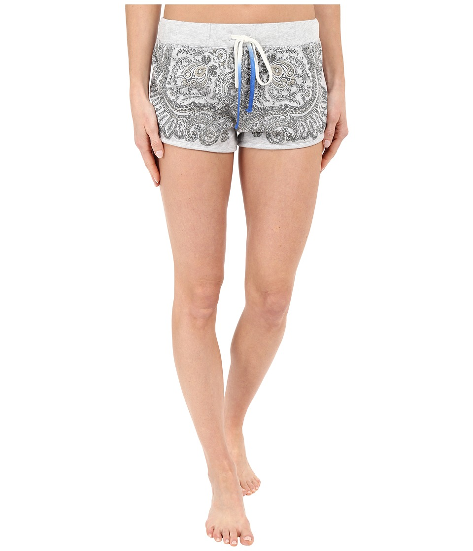 Lucky Brand - French Terry Shorts (Heather Grey) Women's Pajama