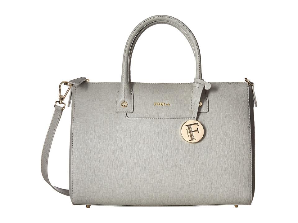 Furla - Linda Medium Satchel (Marmo) Satchel Handbags