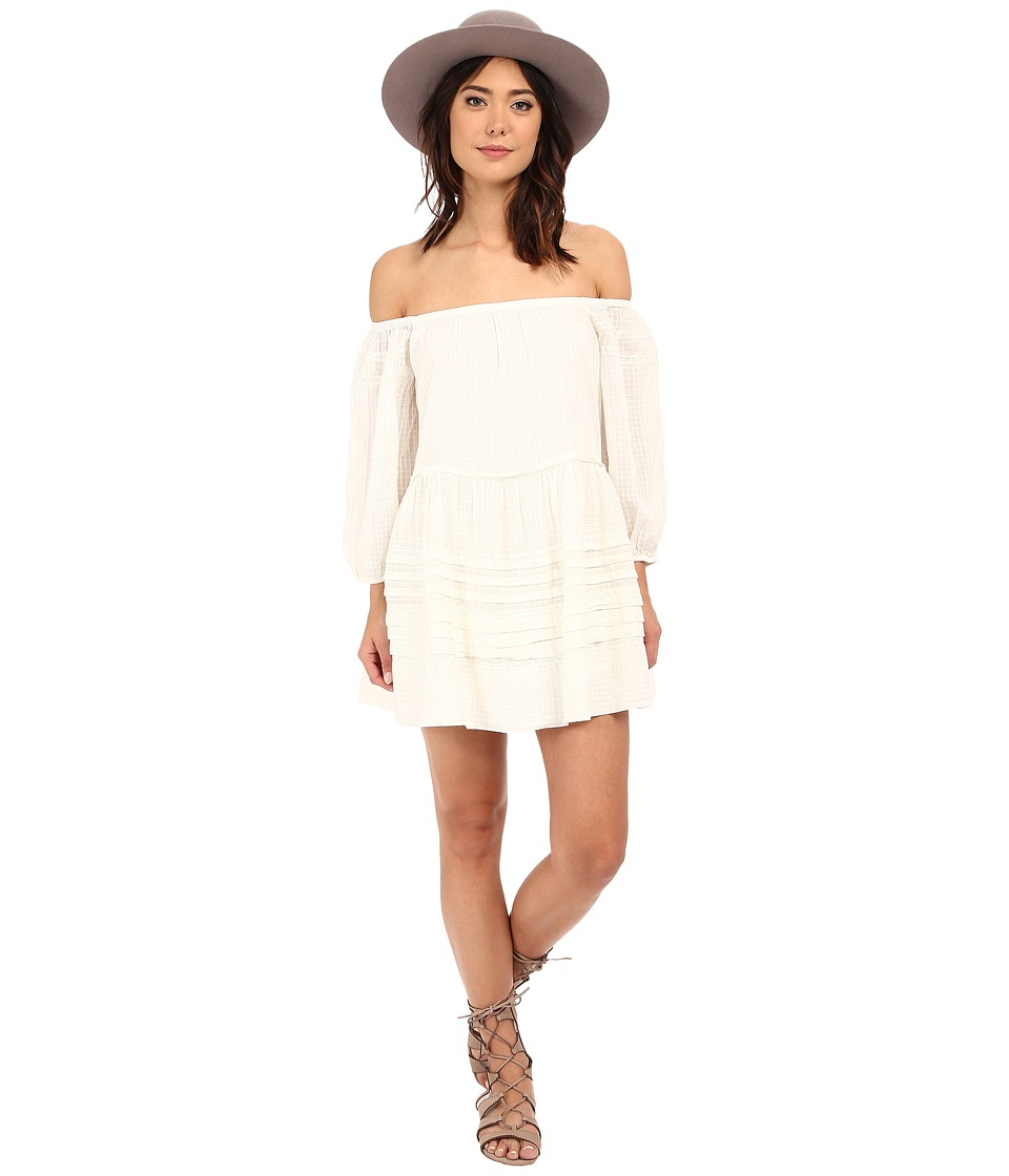 Free People - Candy Shop Mini Dress (Ivory) Women's Dress