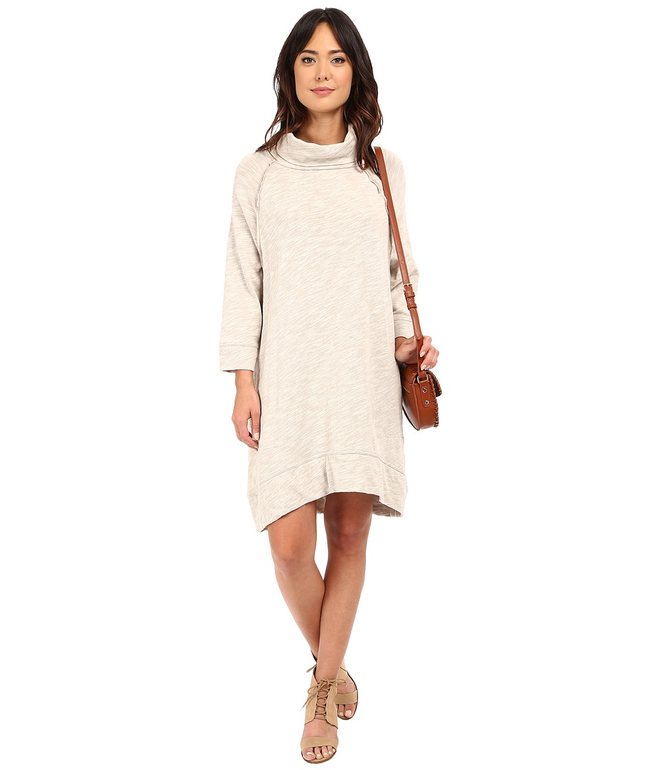 Free People - Terri's Cocoon Dress (Oatmeal) Women's Dress