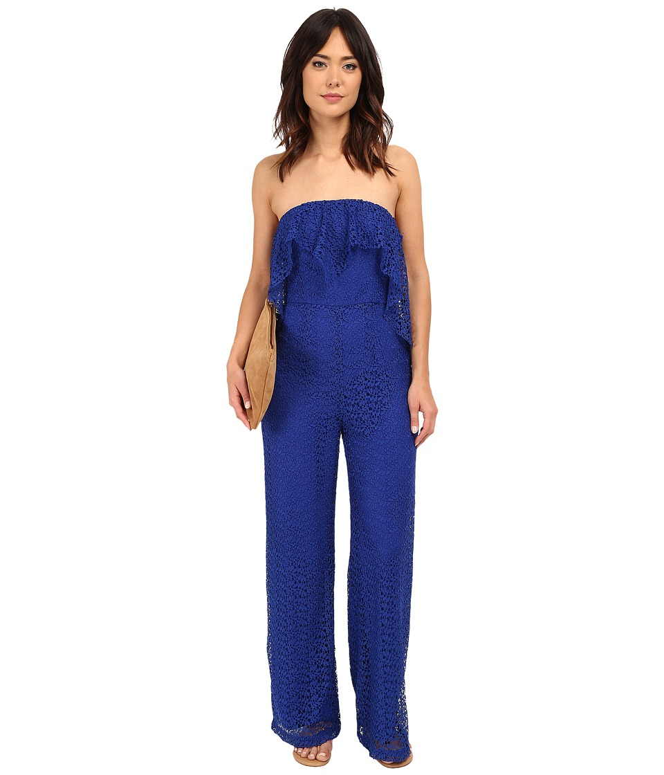 Free People - Lemoncello Romper (Cobalt) Women's Jumpsuit & Rompers One Piece