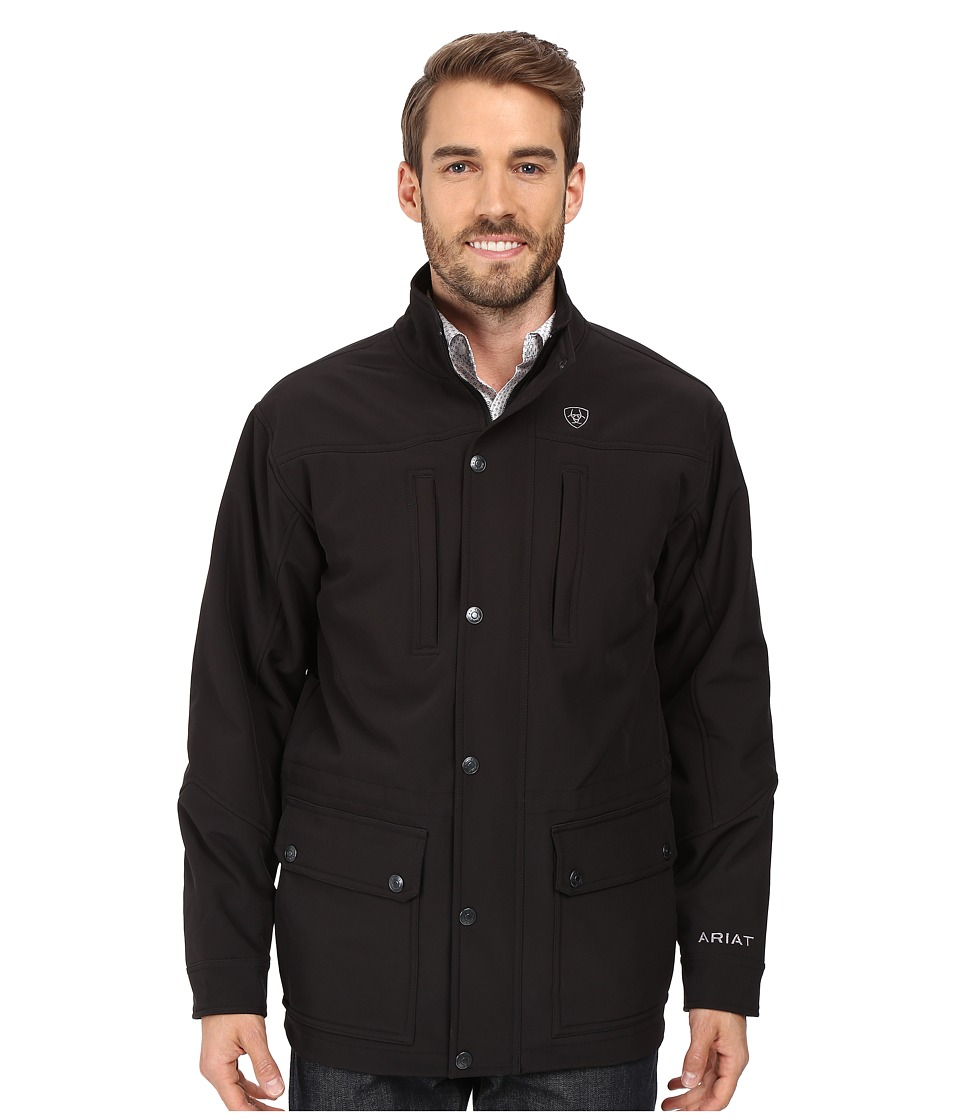 Ariat - Bozeman Jacket (Black) Men's Coat