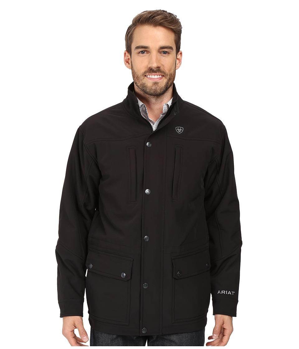 Ariat - Bozeman Jacket (Black) Men's Coat