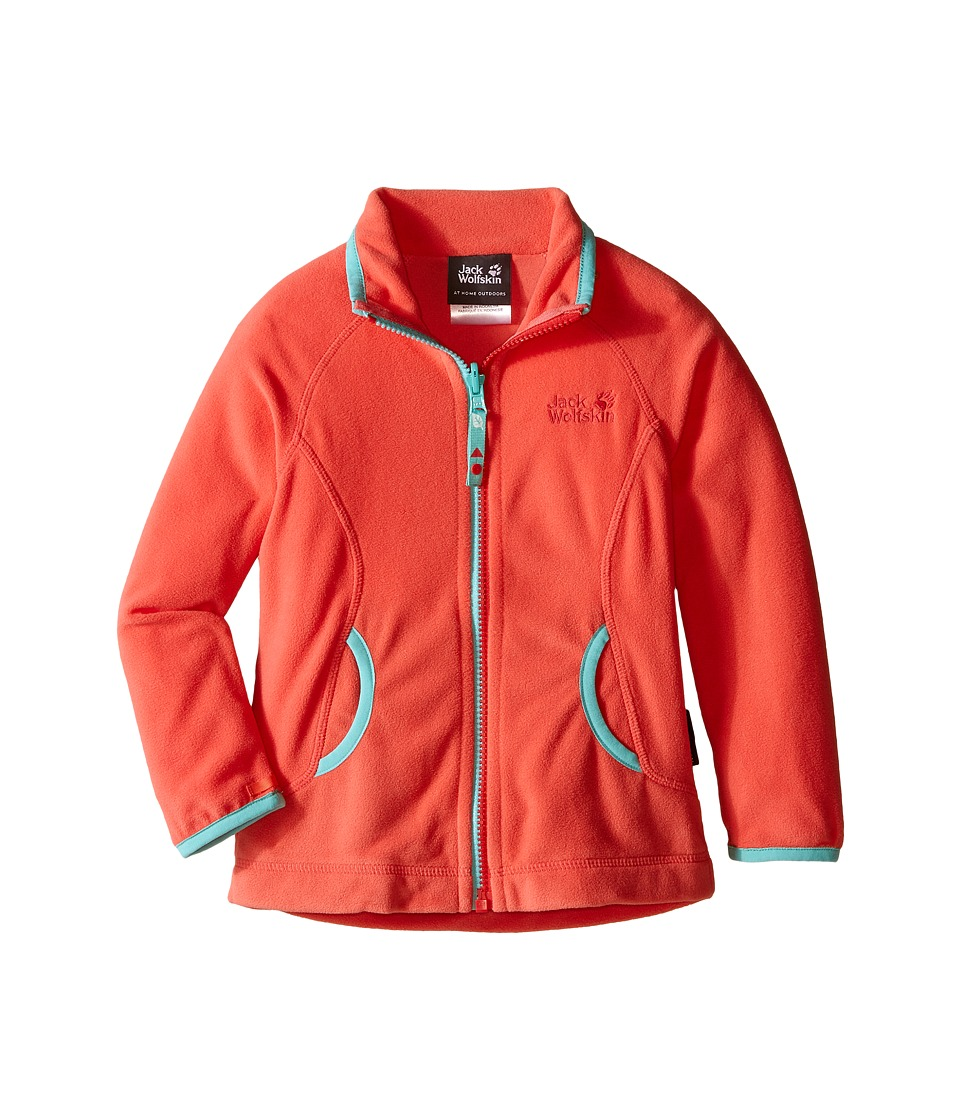 Jack Wolfskin Kids - Woodpecker 3 Jacket (Infant/Toddler) (Grapefruit) Girl's Coat