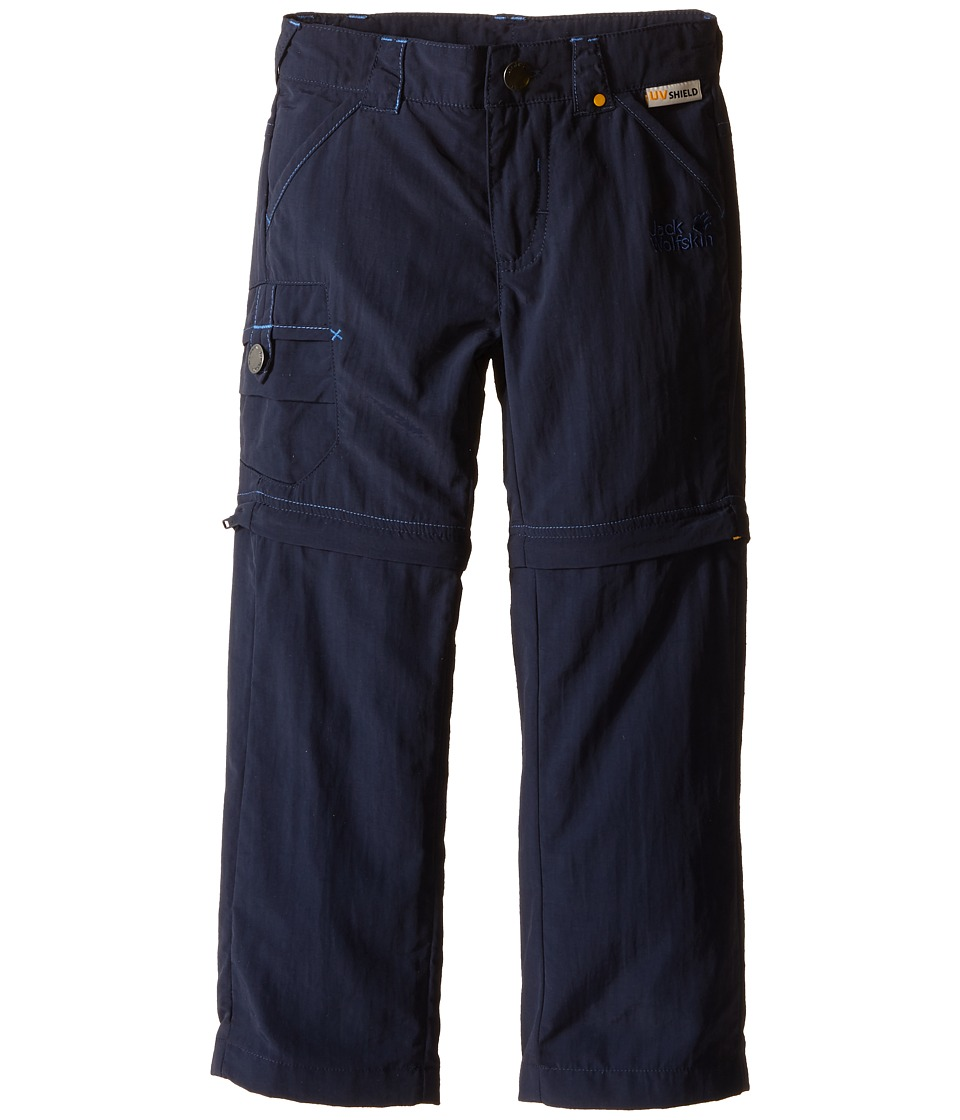 Jack Wolfskin Kids - Safari Zip Off Pants (Infant/Toddler) (Night Blue) Kid's Casual Pants