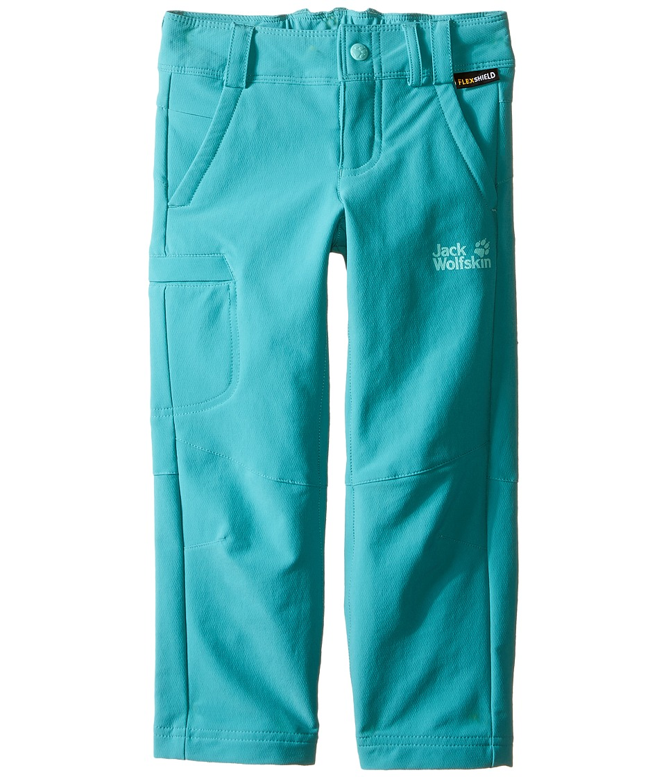 Jack Wolfskin Kids - Activate II Softshell Pants (Infant/Toddler) (Spearmint) Girl's Casual Pants