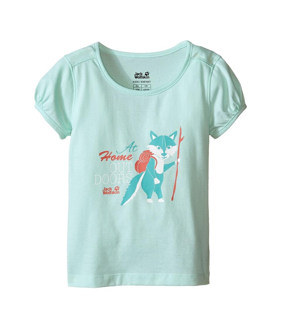 Jack Wolfskin Kids - Wilderness T-Shirt (Infant/Toddler) (Fresh Breeze) Girl's T Shirt
