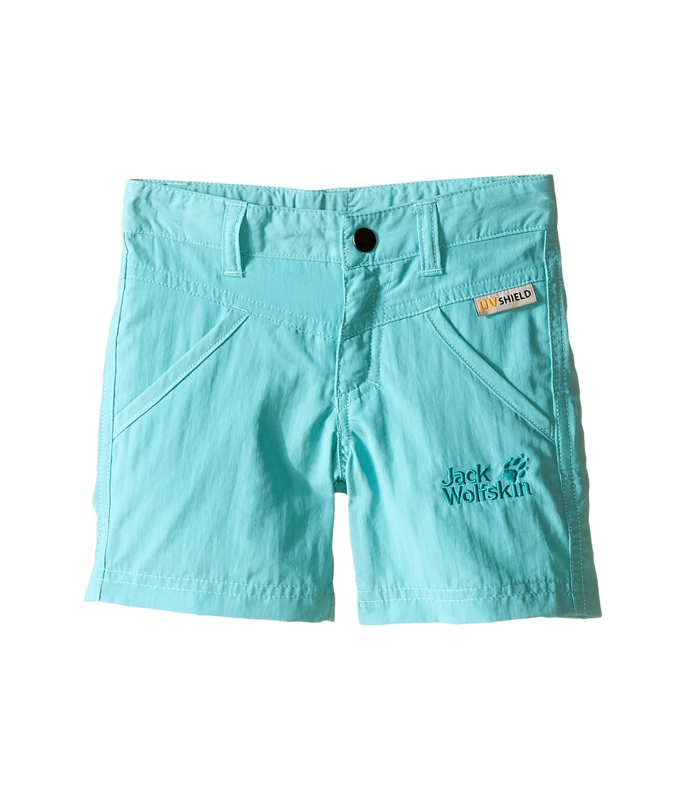 Jack Wolfskin Kids - Sun Shorts (Infant/Toddler) (Pool Blue) Girl's Shorts