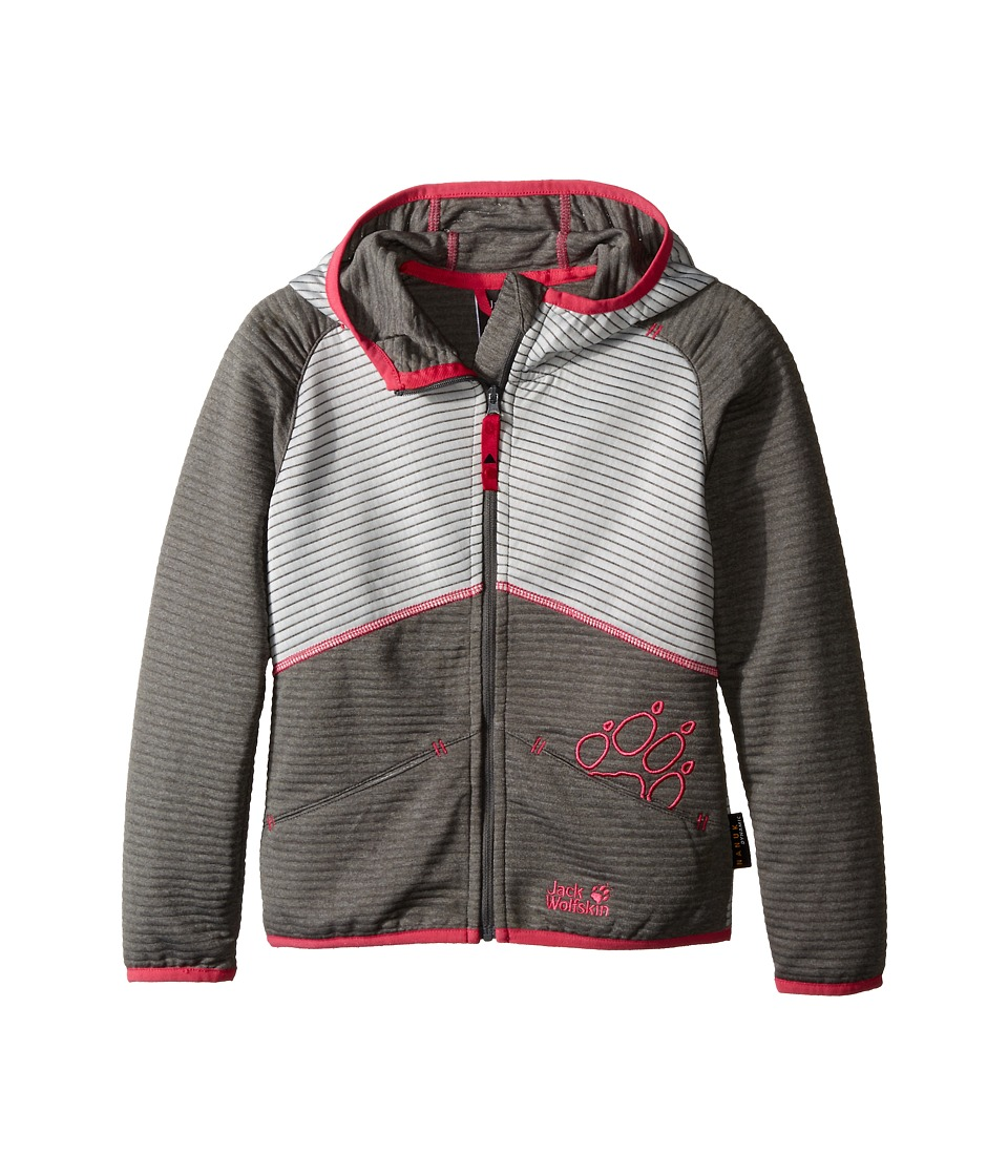 Jack Wolfskin Kids - Tongari Jacket (Little Kid/Big Kid) (Tarmac Grey) Girl's Coat