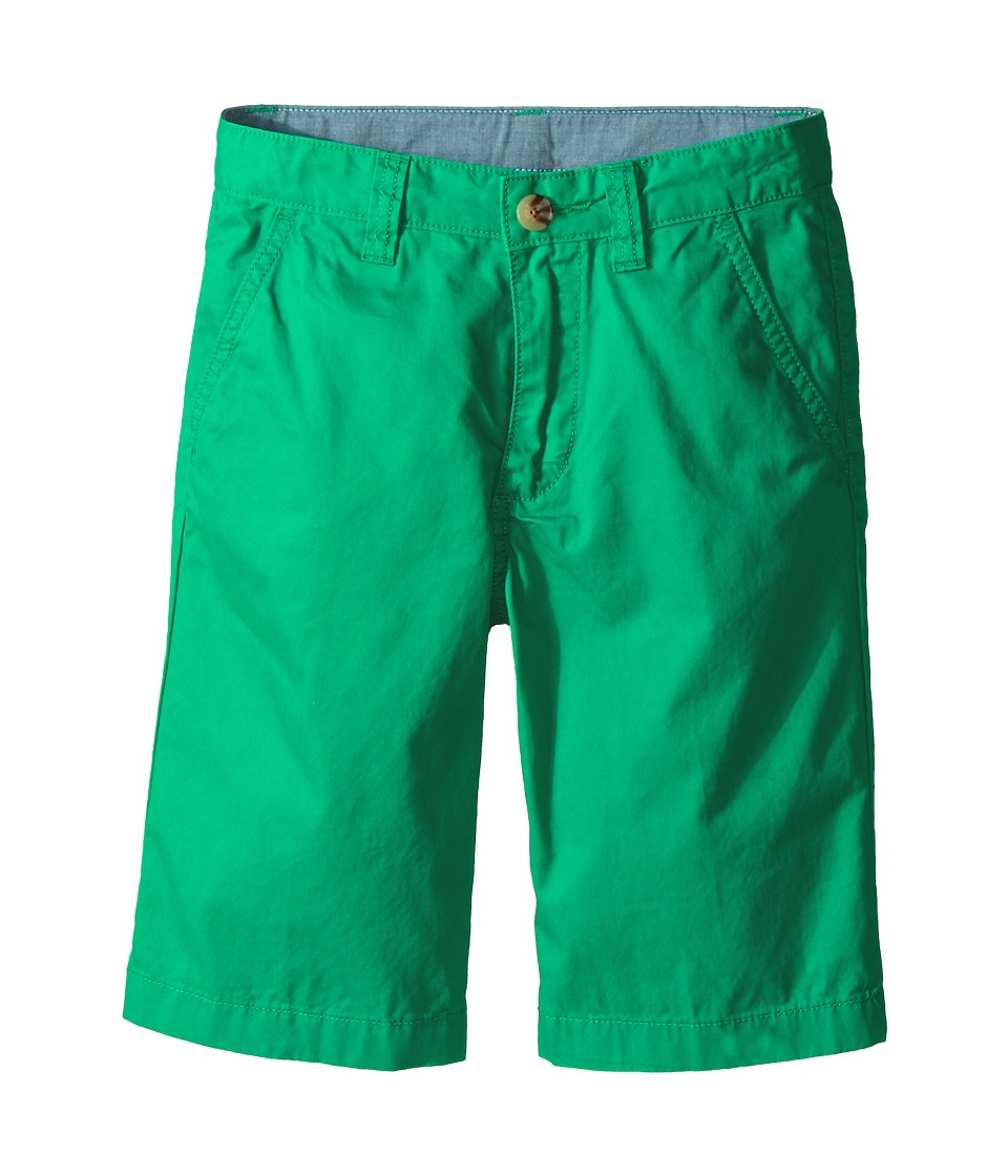 Lacoste Kids - Cotton Gabardine Bermuda Short (Little Kids/Big Kids) (Menthol Green) Boy's Shorts